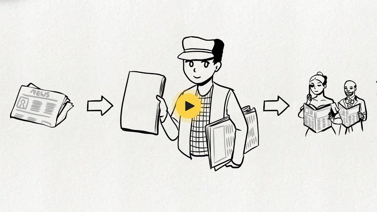 Geschichte paperboy